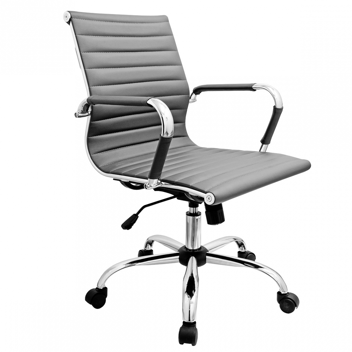 Easton Office Chair with Casters Grey