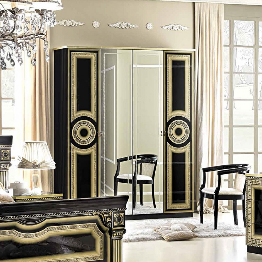 black and gold bedroom furniture alena black and gold modish furnishing 18318