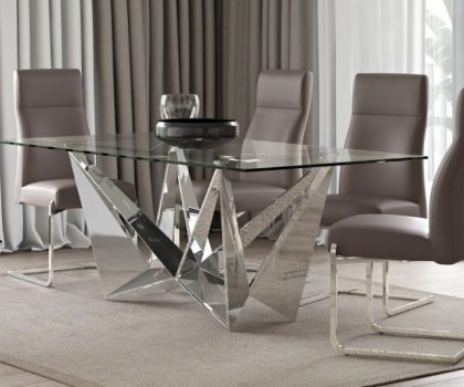 florentina glass dining table