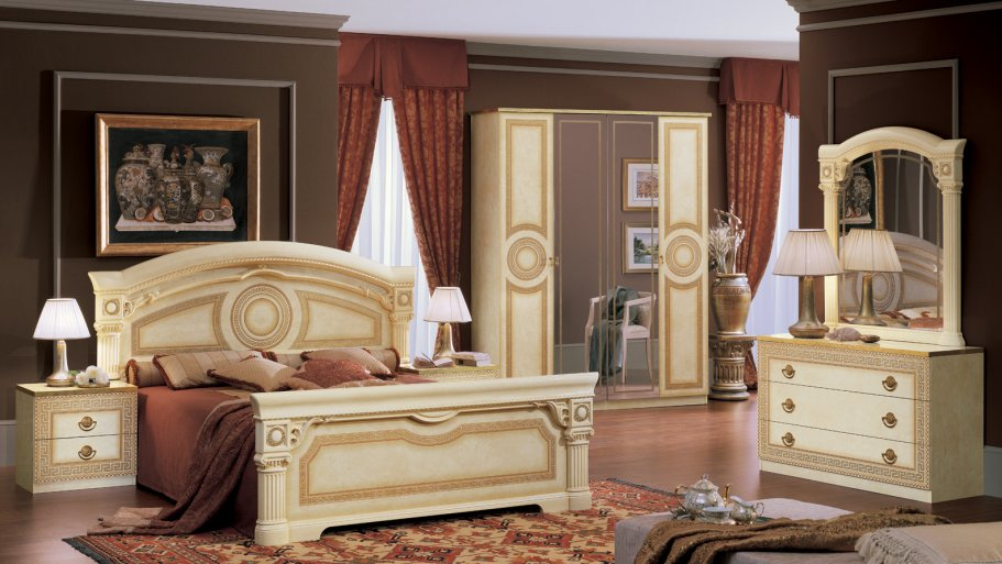 Classically styled Italian furniture