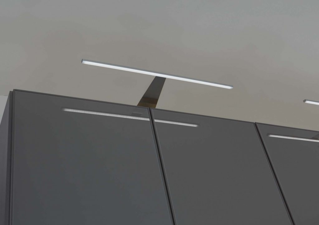 LED lights on wardrobe