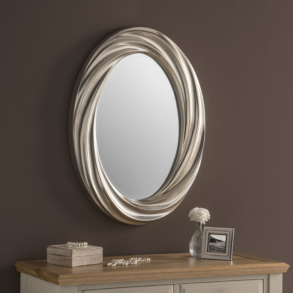 Mirrors Small: Small Oval Wall Mirror