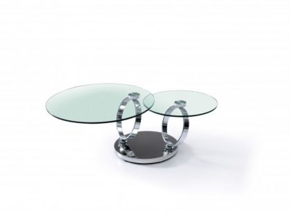 Olympia Double Glass Coffee Table