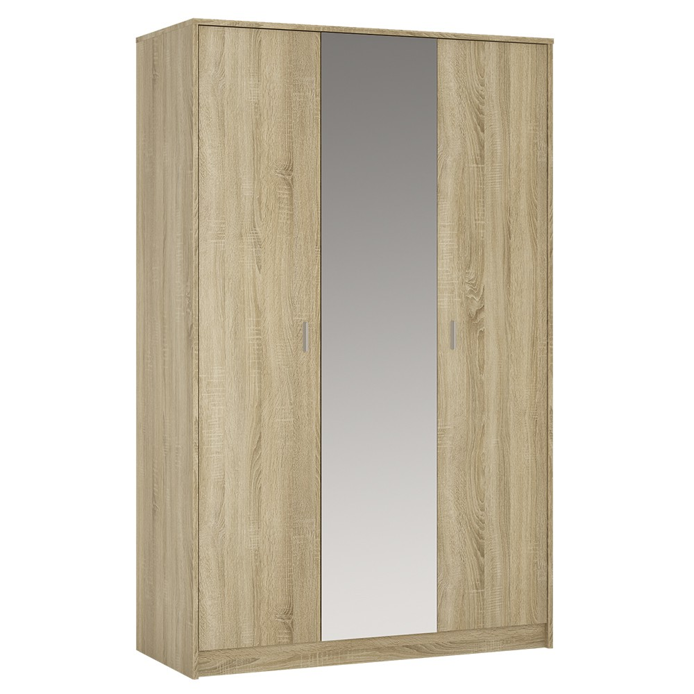 4052147_4you_3_door_wardrobe_inc_mirror_sonama_oak_1000x1000