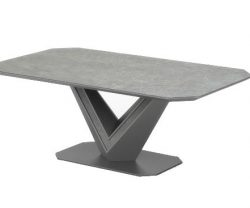 grey ceramic coffee table
