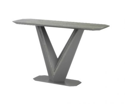 grey ceramic console table