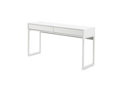white gloss console table dresser