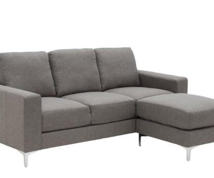grey three seater sofa