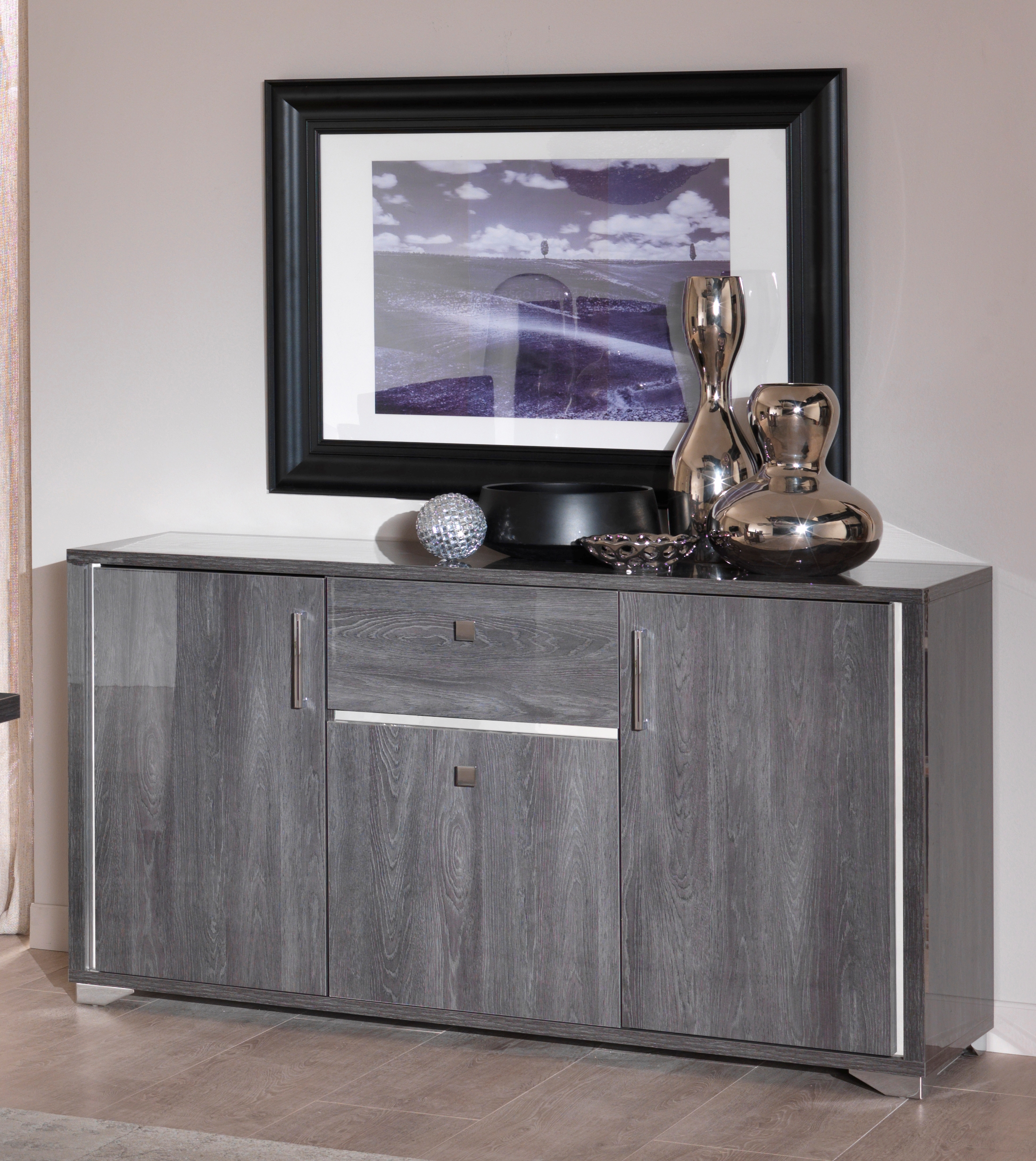 Armony 3 doors 1 drawer sideboard