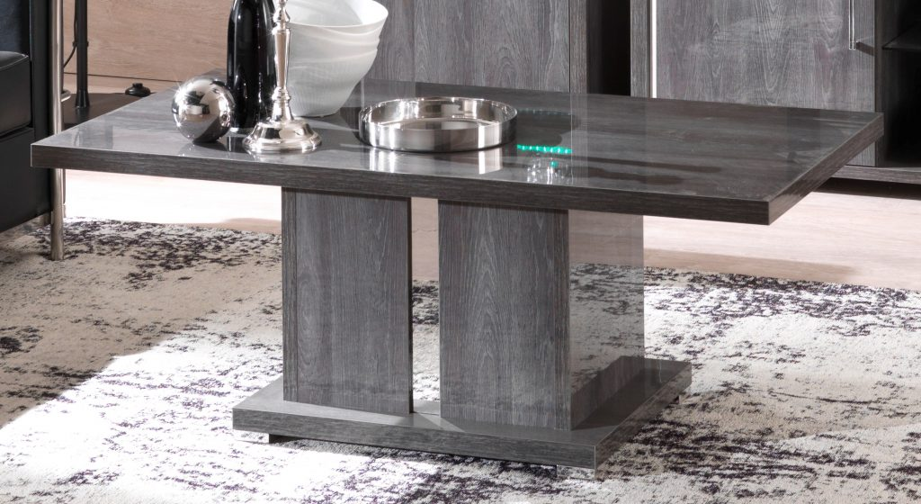 Armony Grey Coffee Table Modish Furnishing