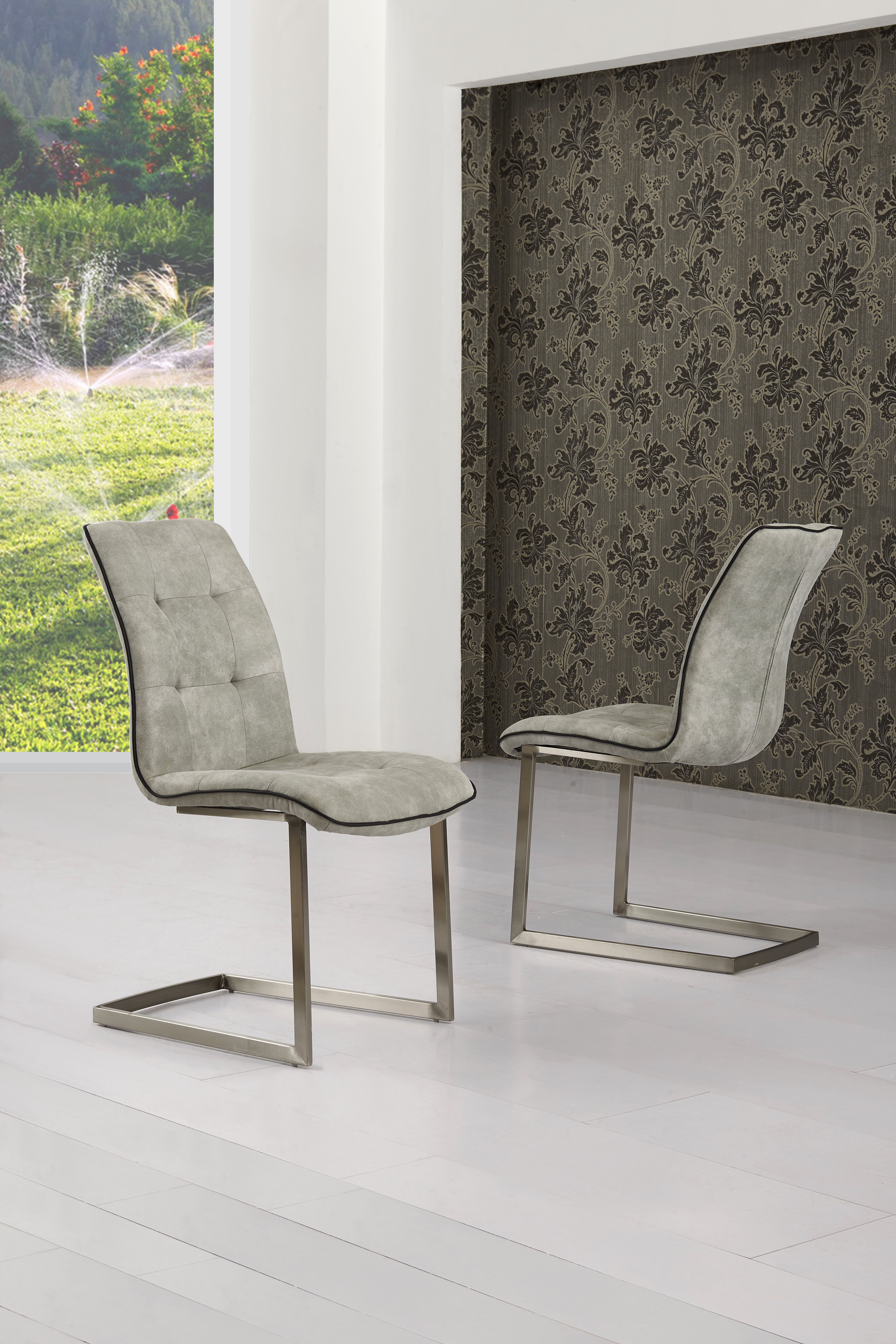 Modish Furnishing : fabric dining chairs - amorenlinea.org