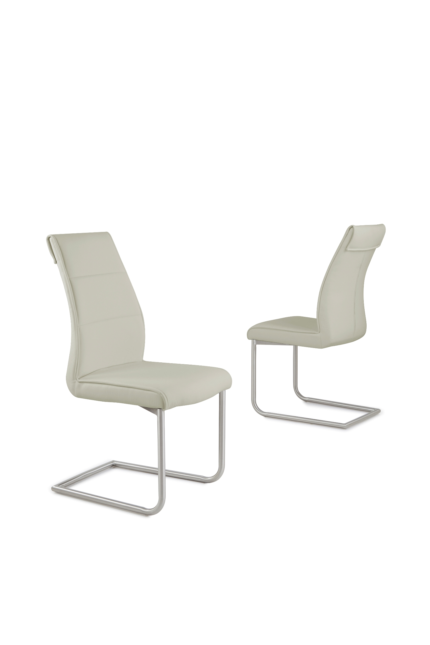 Zayno Taupe Chair CH-6652