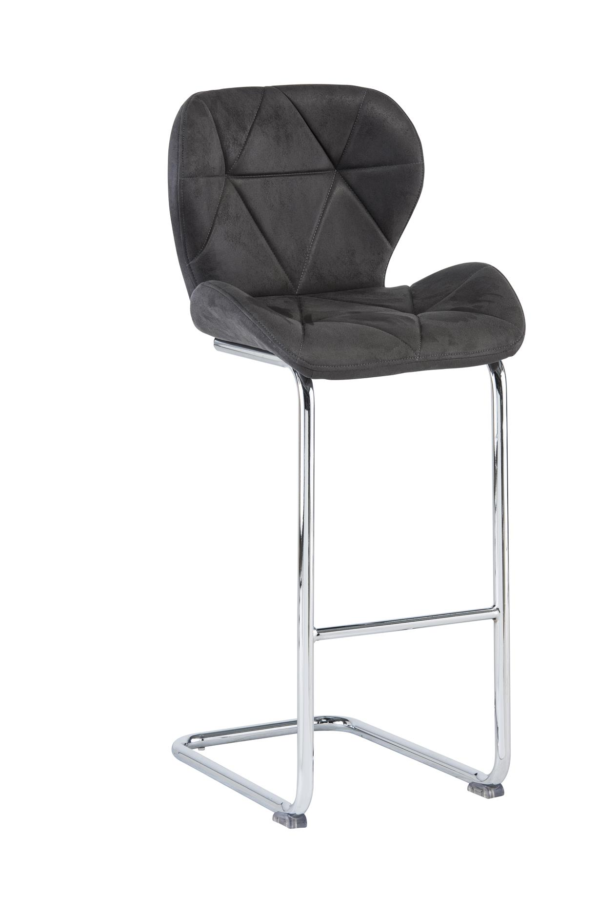 Terrific Lincoln Grey Fabric Bar Stool Pack Of Two Dailytribune Chair Design For Home Dailytribuneorg