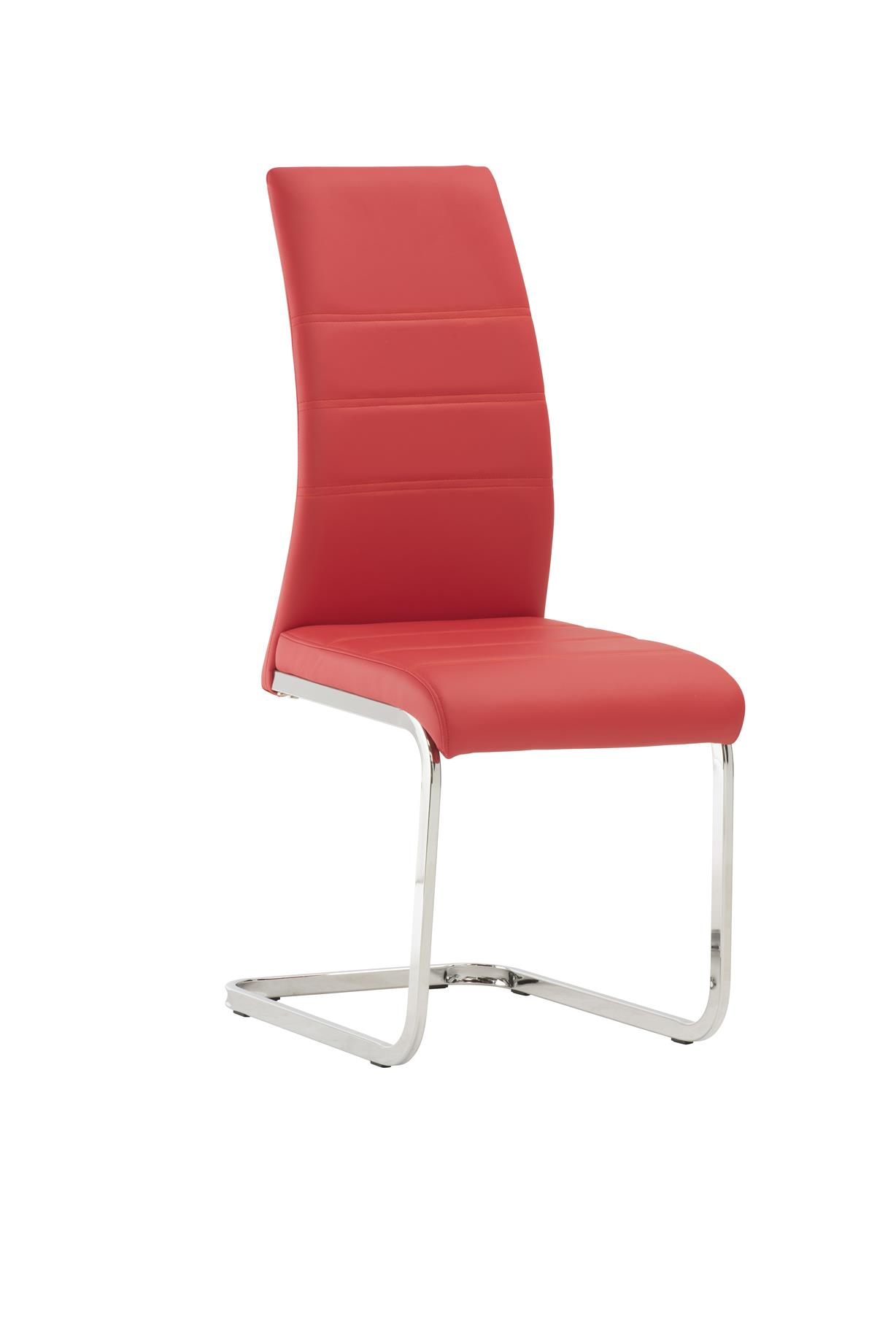 Soho Red Dining Chairs Dining Room Furniture Free Delivery