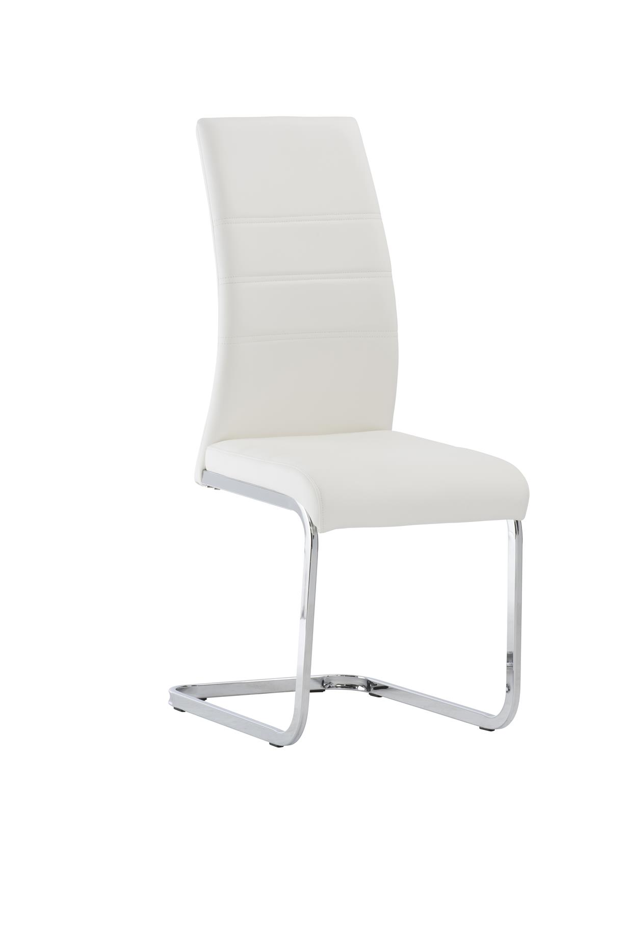 Peachy Soho White Dining Chairs Pack Of Two Caraccident5 Cool Chair Designs And Ideas Caraccident5Info