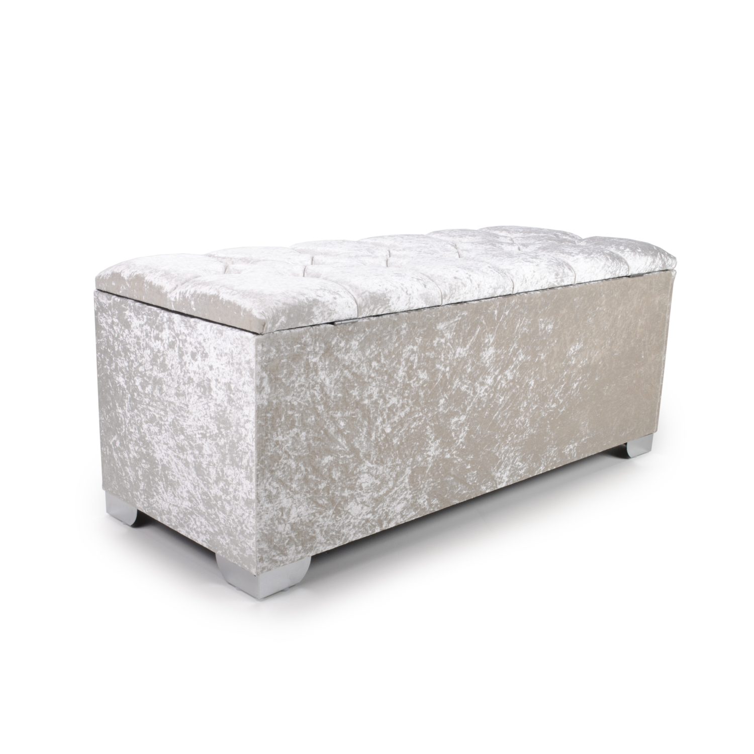4ft pearl quilted crystal ottoman2