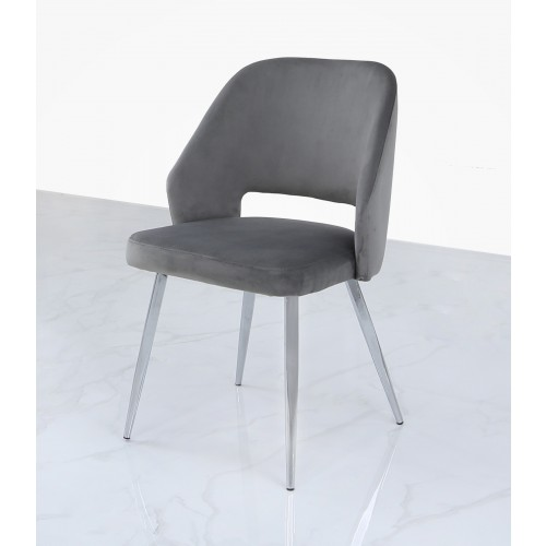 الغرور ميل بحري تثبيت Chrome And Velvet Dining Chairs Natural Soap Directory Org