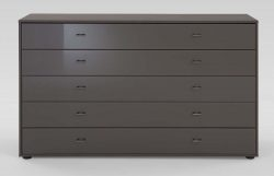 Wiemann Chest of Drawers Havana Glass Tokio