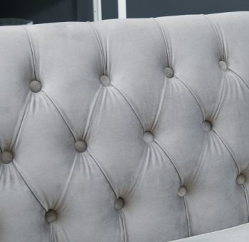 sofa backrest with button design