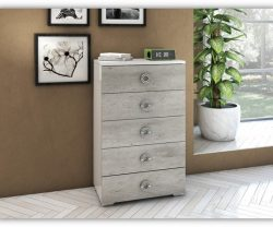 San Martino 5 Drawer Chest