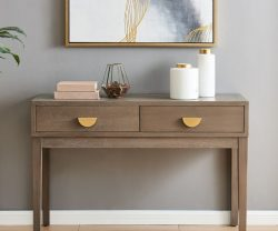derrys valencia two drawer wooden sideboard