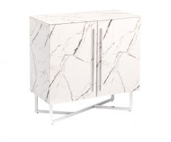 small marble effect sideboard
