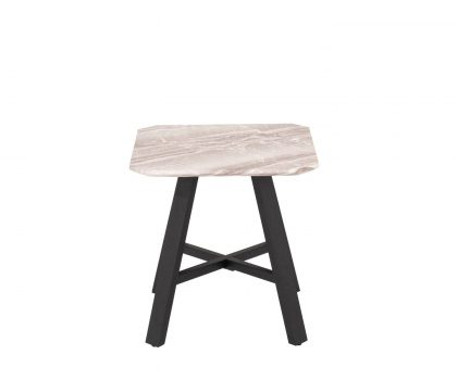 derrys furniture nuna marble effect side table