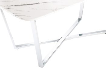 Storm marble effect coffee table by Derrys