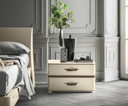 Camel Group Altea Night 2 Drawer Bed Side Table