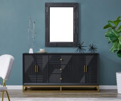 orlando sideboard derrys furniture with mirror