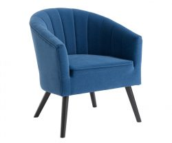 Blue Tub Chair