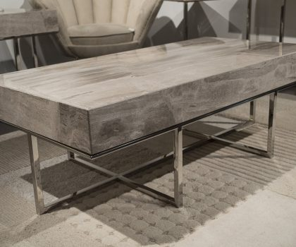 Stone International Gipsy Cocktail Coffee table beige fantasy stone