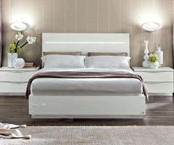 Onda Night White Legno Bed