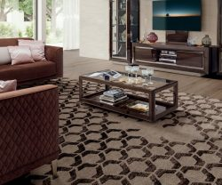 camel group elite day walnut coffee table
